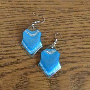 Jewelry - Blue earrings
